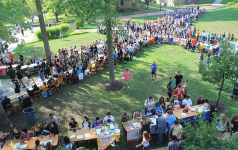 Student involvement fair offers new experiences