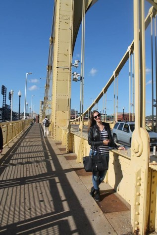 German exchange student conquers Allegheny