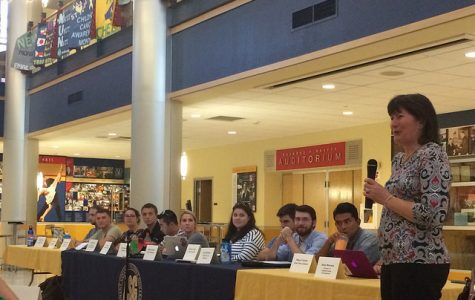 New executive vice president addresses student government