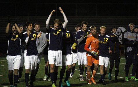 Men's soccer celebrates senior class