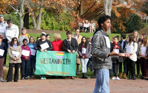 Allegheny community stands with minority groups