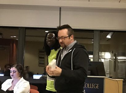 IDEAS Center directors address student government
