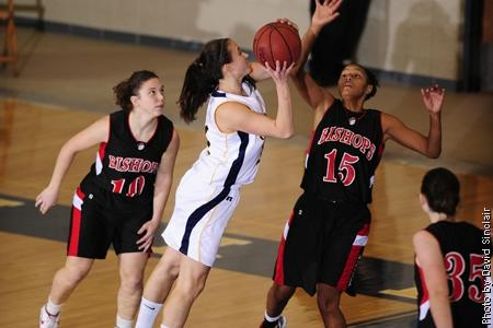 AlleghenySports.com - Laura Magnelli, '11, scored a season–high 14 points against the Kenyon Lords.
