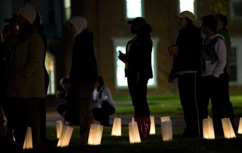 Vigil unites students on campus