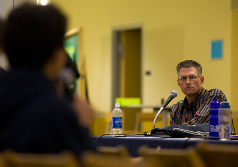 Panel at town hall meeting addresses security concerns