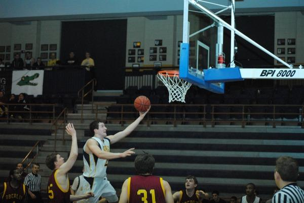 James Ness, '12, scored 26 points in Thursday's upset loss to Oberlin. Photo by Charlie Magovern/The Campus