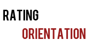 Rating Orientation