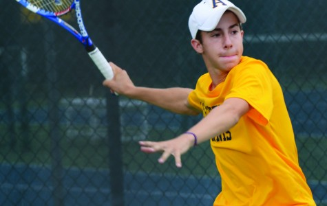 Tennis eyes top three finish