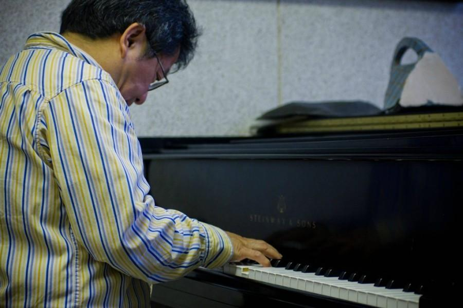 Chien, who has been a music professor at Allegheny for 30 years,  started playing piano when he was seven years old. He was once performed in New York City's Carnegie Hall. CODY MILLER/THE CAMPUS