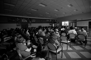 Invisible Children screening draws over 200 spectators
