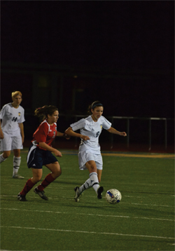 Women's soccer remains at top of NCAC rankings