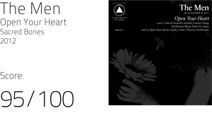 The Men's 'Open Your Heart' a refreshing mix of musical genres