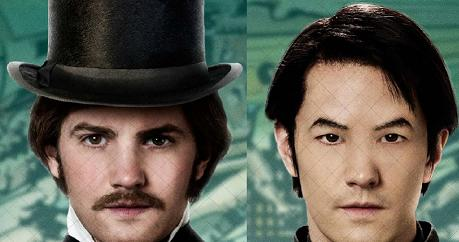 Actor Jim Sturgess stars as both Adam Ewing and Hae-Joo Chang in 'Cloud Atlas.'  Photos courtesy of tvfilmnews.com and collider.com.