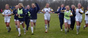 Allegheny Women's Soccer Team Wins First-ever NCAC Championship