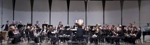 "Professor Julie Hepler guest conducts the Allegheny Wind Symphony through Igor Stravinsky's ""Firebird Suite"""