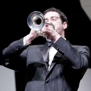 """Dan Honeycutt 14' playing """"Napoli"""" with the Allegheny Wind Symphony"""