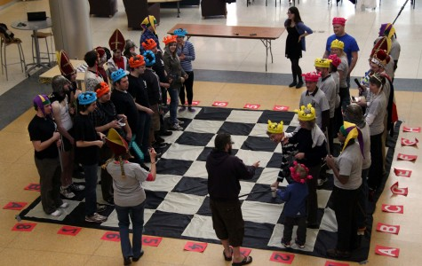 Human Chess Takes Over Campus Center