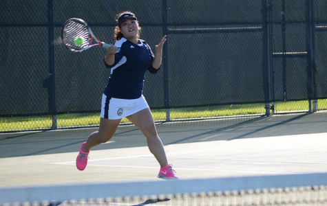 Women's tennis ends fall season