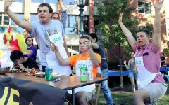 The Wingmen 2.0, a last minute entry, triumphed over their rival teams, The Delts, The Blue Wings and Team Owen  on Saturday, Sept. 27 as part of the annual wingfest.