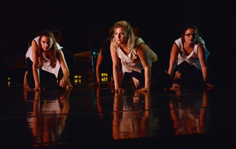 Alumna's dance company performs on campus