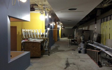 Library renovations near completion
