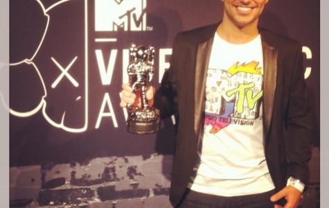 John Hreha. '03, instagrams his attendance at the 2013 MTV Video Music Award.