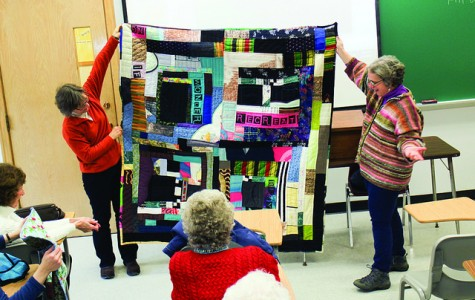 Artist: quilts tell stories