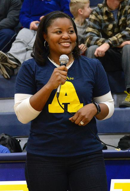 Portia Hoeg, Allegheny College Director of Athletics and Recreation, announced the unveiling of the new Chompers on Feb. 14. Hoeg  has been invloved in athletics since elementary school and played basketball through college.