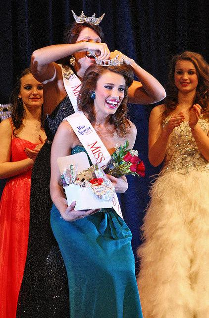Brianna Layman, '16, was crowned as the new Miss Crawford County on Feb. 21.