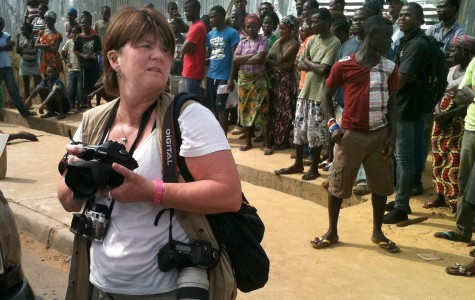 Allegheny professor covers Liberia's Ebola crisis