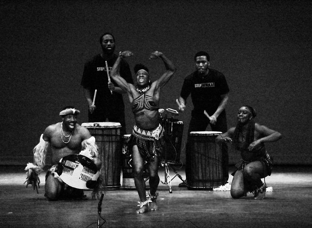 Stepping dance company, Step Afrika!, performed on Saturday, Feb. 28 in Shafer Auditorium at Allegheny College. Step Afrika! is one of the events during Black History Month that is sponsored by the Association for the Advancement of Black Culture.