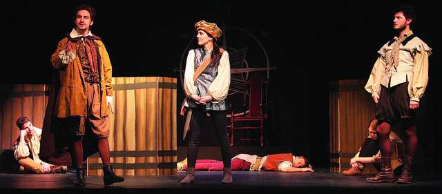 Actors bring to life the play directed by Peter Bergman, '15, in the Little Theater in Arter Hall this weekend. S.E.T. will perform on March 7 at 8 p.m. and March 8 at 2:30 p.m.