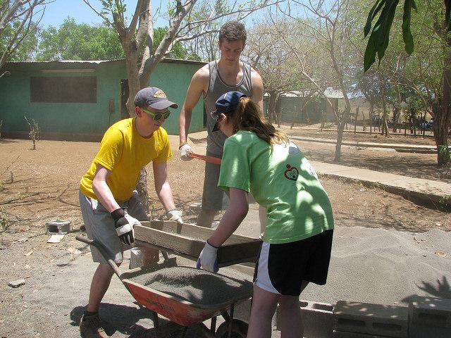 Every other year, Allegheny students travel to Nicaragua to do 80 hours of service work for Project Chacocente.