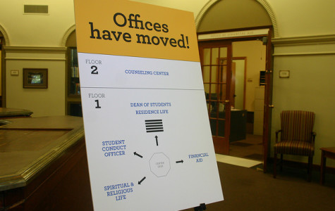 Student services offices move to new locations