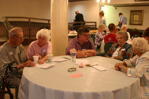 The first Year of Meadville event was attended by residents of the Wesbury United Methodist Retirement Home, Allegheny students and Meadville residents.