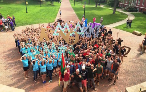Greek Life presents new members at Run-Out