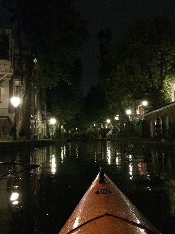 Currul said that canoeing through the city of Utrecht via the Oudegracht Canal was a unique experience and a great way to start her study abroad experience.