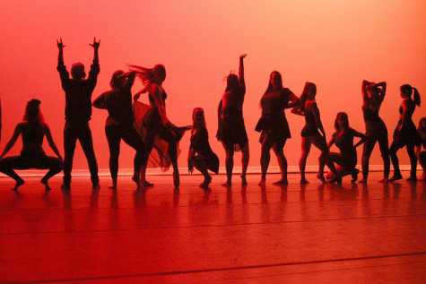All students that choreographed a piece for Orchesis show off their skills on Tuesday, Nov. 3, 2015.