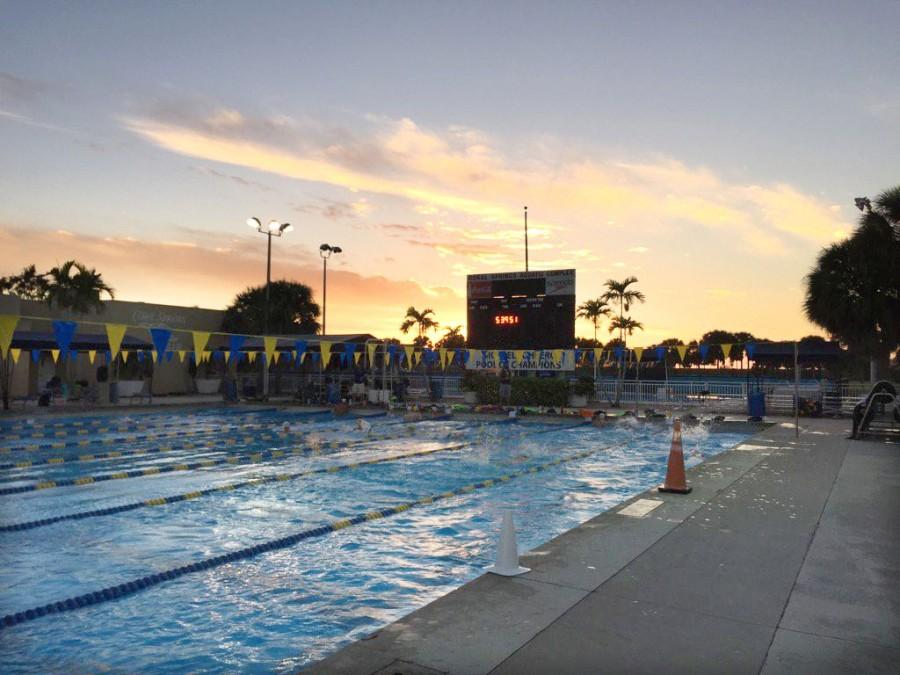 The swimming and diving team took their annual training trip to Coral Springs, Florida over winter break. The team held  two-a-day practices and had an informal meet against Wittenberg College.