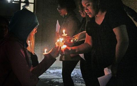 Vigil kicks off Black History Month