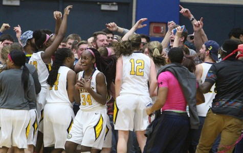 Women's basketball wins first playoff game