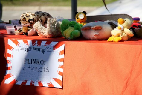 Participants at the Funkapalooza carnival had the opportunity to win prizes from the games set up by college and community organizations.