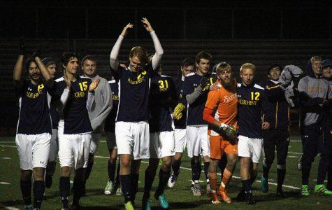 Men's soccer celebrates senior class