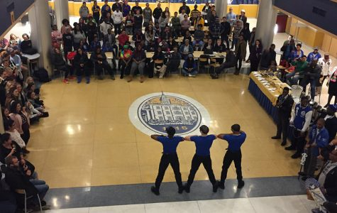 Historically black fraternity returns to Allegheny