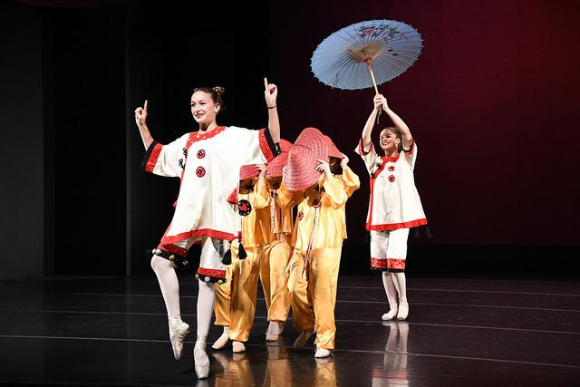 "Performers from Allegro Dance Arts, a local dance studio, performed ""Chinese"" from ""The Nutcracker"" in the concert on Sunday, Dec. 4, 2016."