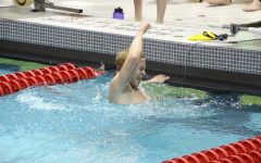 Swimming and diving finish sixth in conference