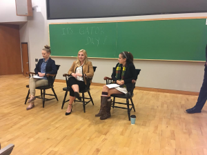 Center for Business and Economics holds Gator Day panel