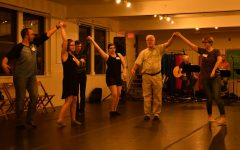 Communities gather at monthly contra dance