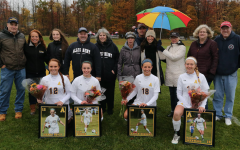 Gator soccer honors teammates on Senior Day