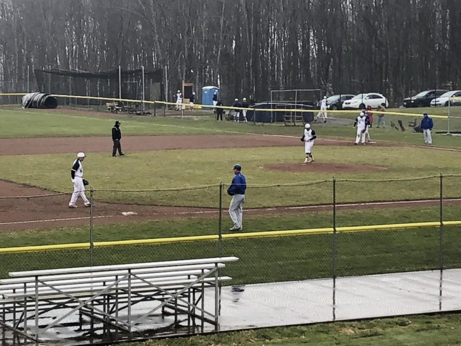 The Allegheny College Baseball team had its first home game against the State University of New York at Fredonia on Wednesday, April 11, 2018. The Gators won with a final score of 9-8 in eleven innings.
